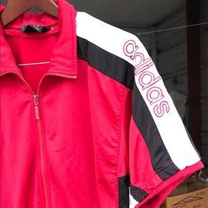 Adidas vtg B Boy short sleeve jacket